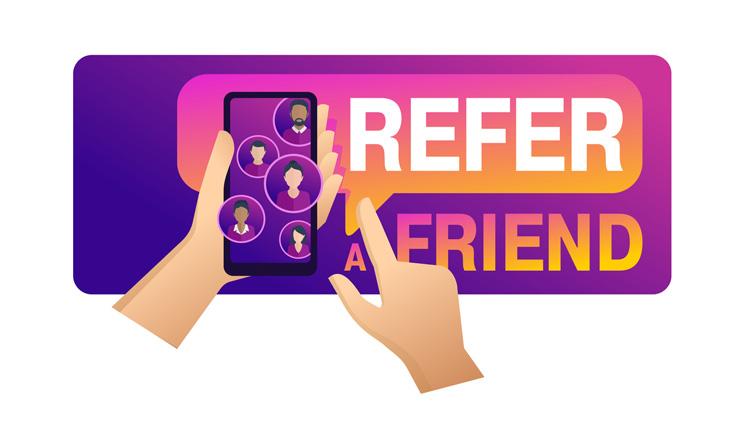 refer a friend rewards program logo