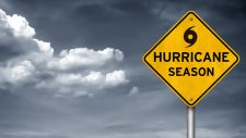 hurricane season warning sign
